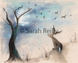 Stargazing by Sarah Reilly, Suffolk Artist, Love Country UK