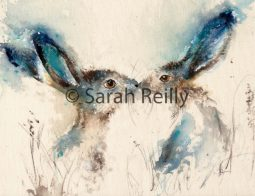 Tickly Kisses by Sarah Reilly, Suffolk Artist, Love Country UK