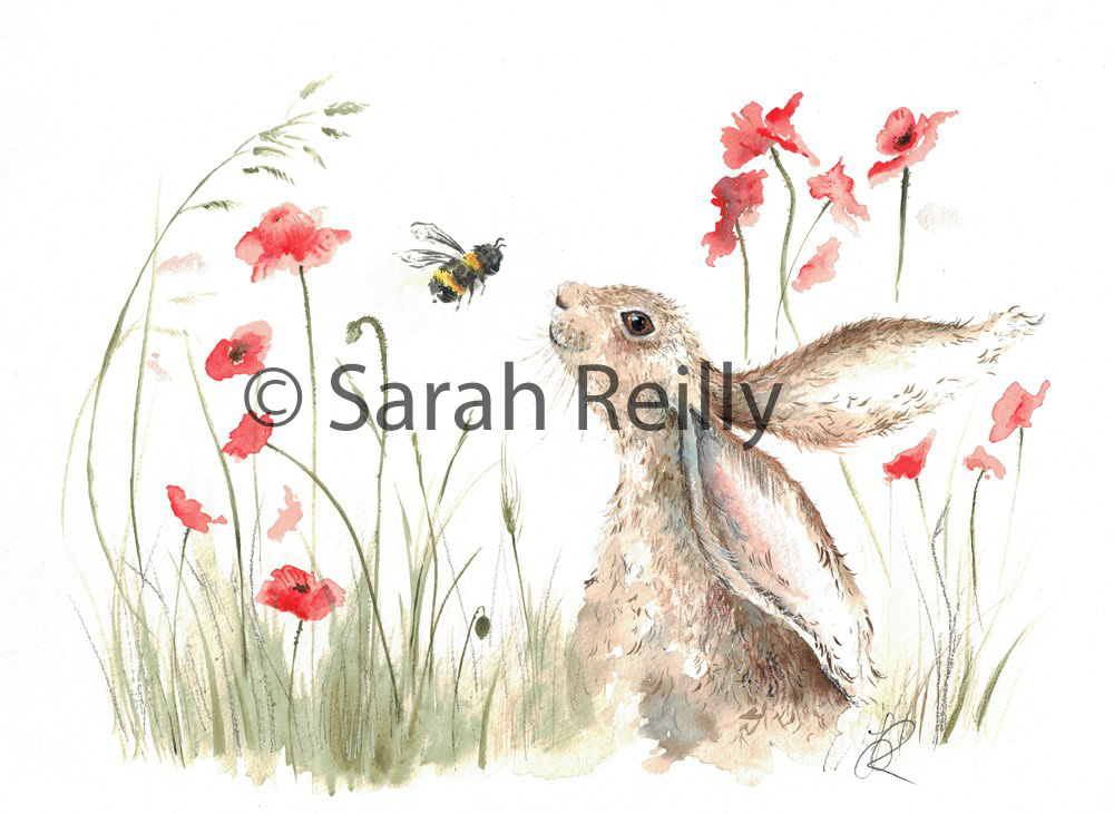 Bee Lovely by Sarah Reilly, Suffolk Artist, Love Country UK