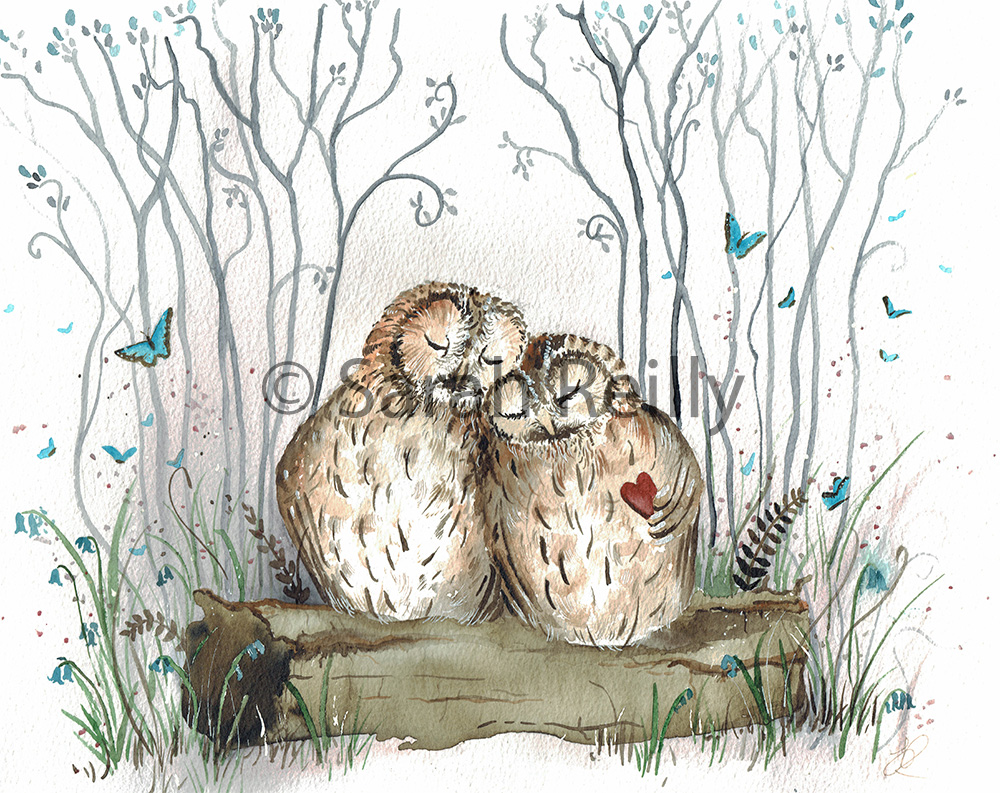 Owl Always Love you by Sarah Reilly Artist Love Country