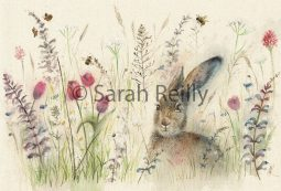 Spring is Hare by Sarah Reilly Suffolk Artist Love Country UK