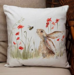 Bee Lovely Cushion by Sarah Reilly Love Country UK