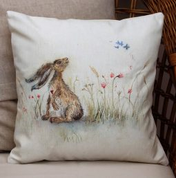 Butterfly Breeze Cushion by Sarah Reilly Love Country UK