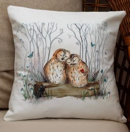 Owl Always Love You Cushion by Sarah Reilly Love Country UK