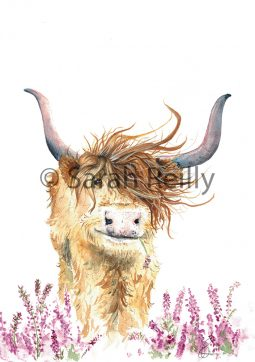 Highland Harriet by Sarah Reilly Suffolk Artist Love Country UK