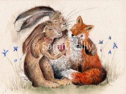 Woodland Friends by Sarah Reilly, Suffolk Artist, Love Country UK