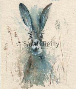 In the Wet Grass by Sarah Reilly Suffolk Artist Love Country UK