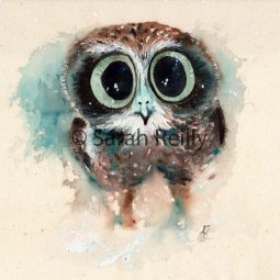 Little Night Owl by Sarah Reilly, Suffolk Artist, Love Country UK